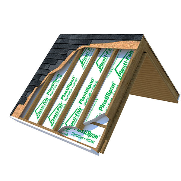 Insulating Cathedral Ceilings with PlastiSpan Insulation