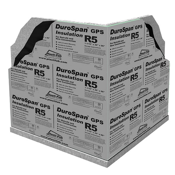 Insulating Exterior Foundation Walls with Durospan GPS R5 Insulation