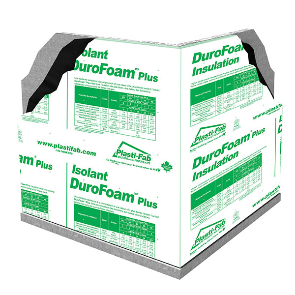 Insulating Exterior Basement Walls with DuroFoam Plus HD