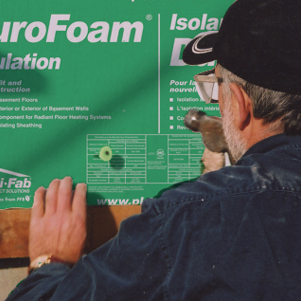 Durofoam Insulating Exterior Foundation Walls
