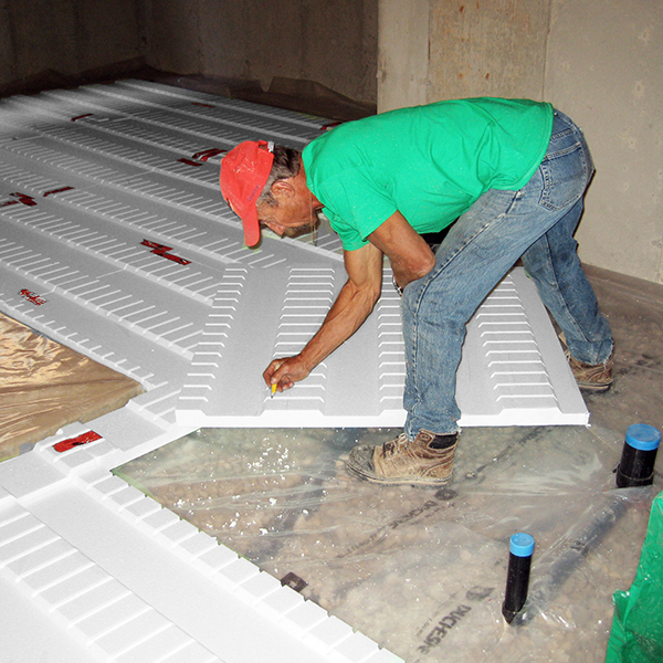 Durofoam Interior Basement Wall Insulation
