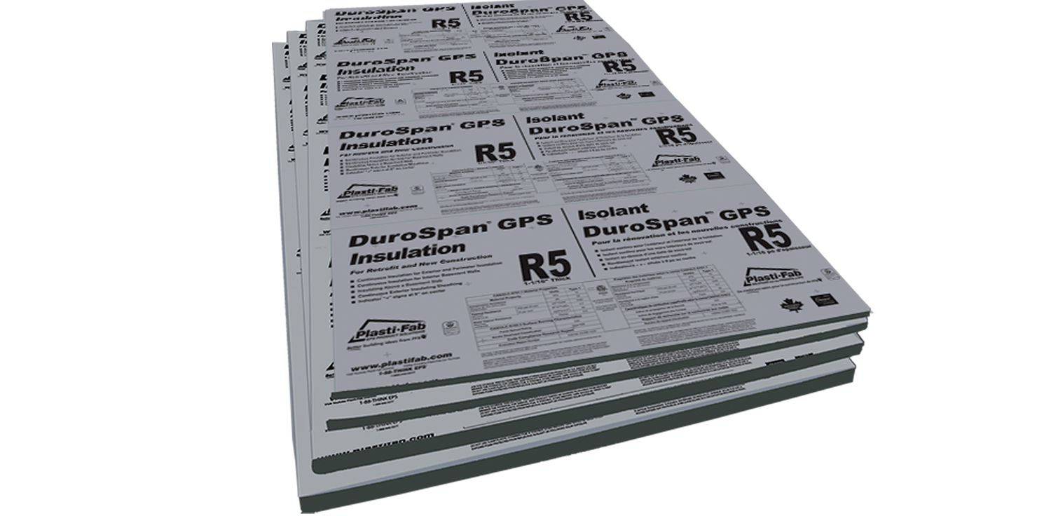 Our DuroSpan GPS R5 Insulation with hotspots that have more information