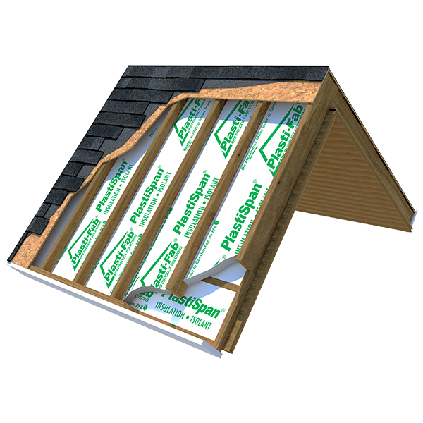 Our Cathedral Ceiling Insulation product