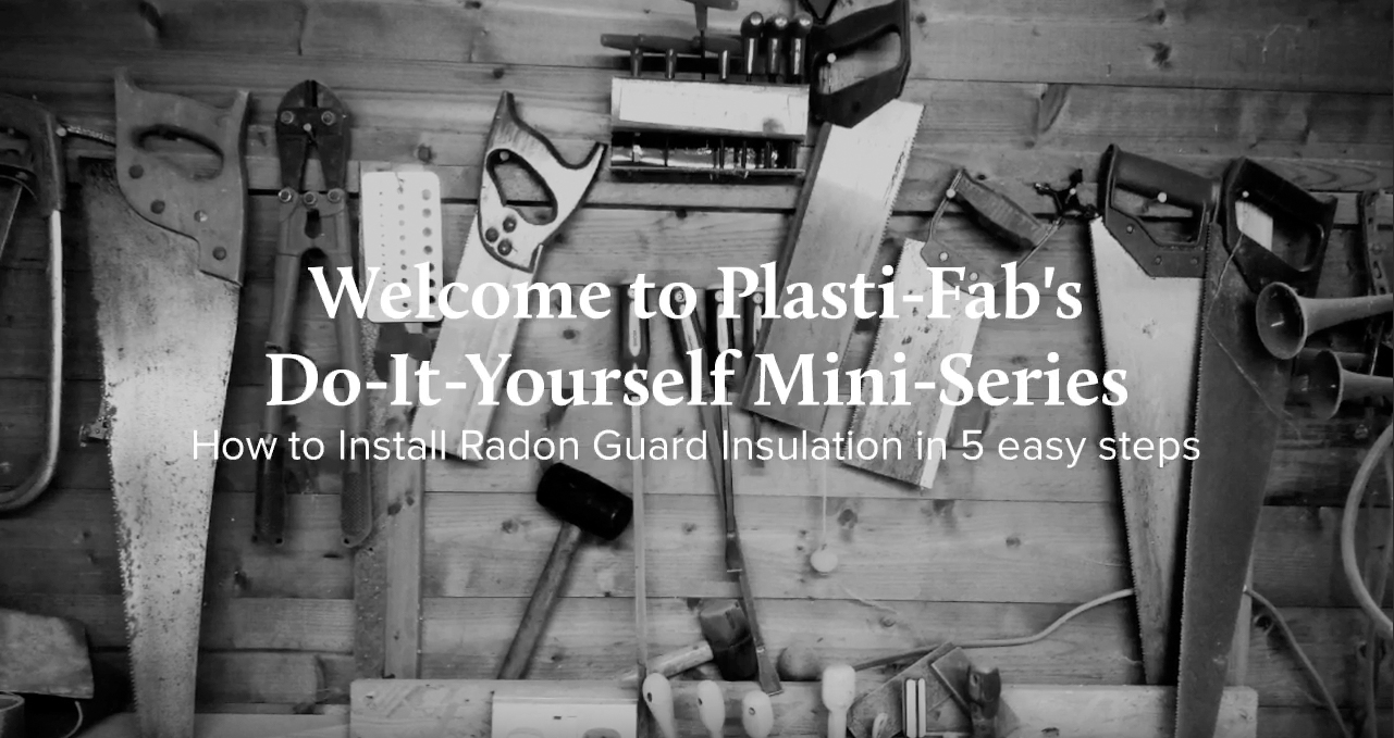 How to Install Radon Guard Insulation